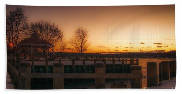 Northport Sunset Hand Towel