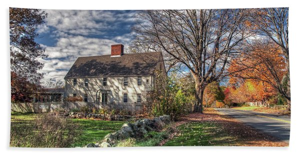 Noyes House In Autumn Hand Towel