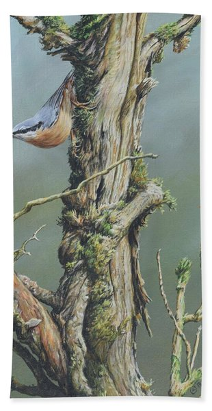 Nuthatch Bath Towel