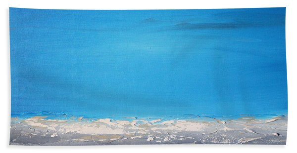 Ocean Blue 1 Hand Towel