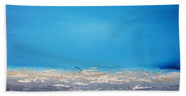 Ocean Blue 4 Hand Towel
