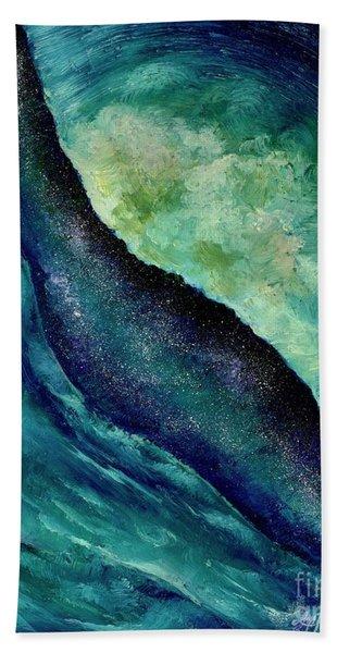 Ocean Meets Sky Hand Towel