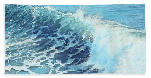 Ocean's Might Bath Towel