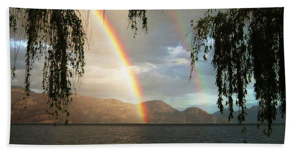 Okanagan Rainbow Hand Towel