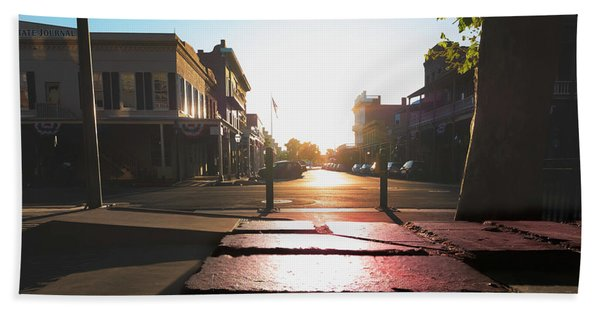 Old Sacramento Smiles- Hand Towel