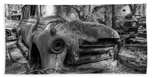 old truck_MG_4220 Bath Towel