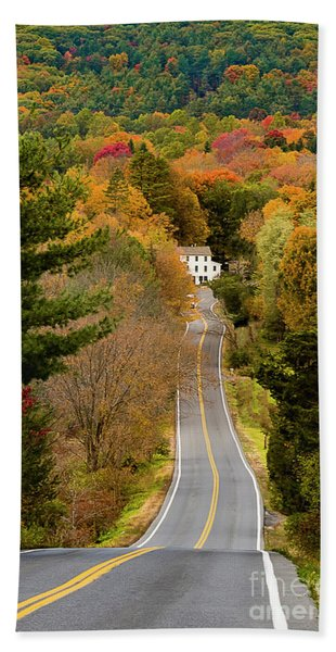 On The Road To New Paltz Hand Towel