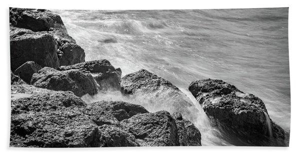 Ocean Rocks Bath Towel