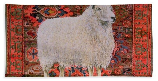 One Hundred Percent Wool Bath Towel