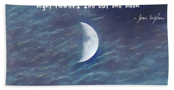 One Moon Hand Towel