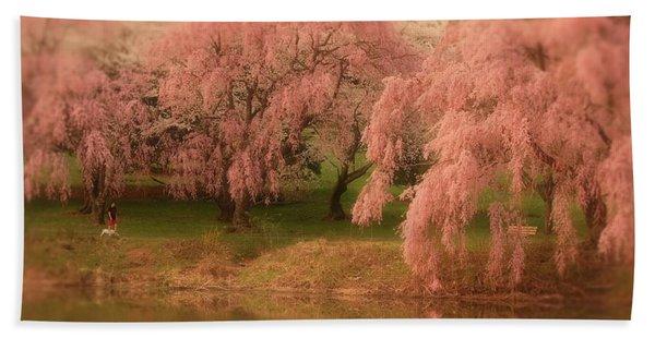 One Spring Day - Holmdel Park Bath Towel