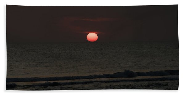 Onyx Sunset Venice Florida Hand Towel