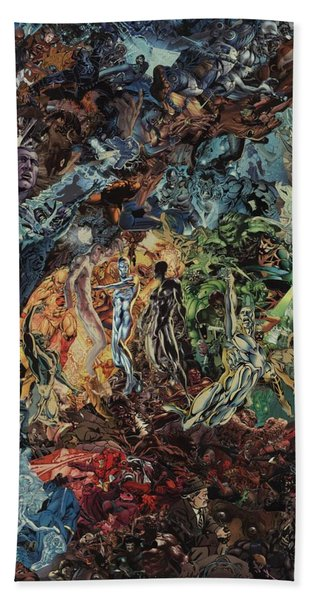 Opening Of The Fifth Seal After El Greco Hand Towel
