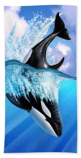 Orca 2 Bath Towel
