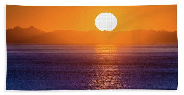 Oregon Sunset Bath Towel