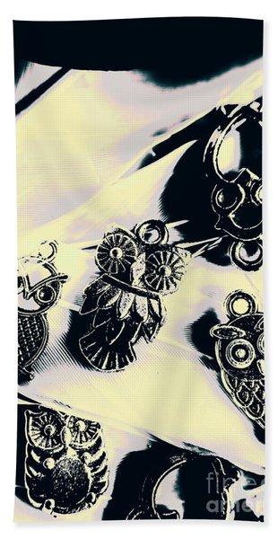 Owls From Blue Yonder Bath Towel