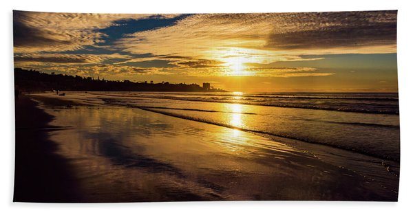 Pacific Sunset Bath Towel