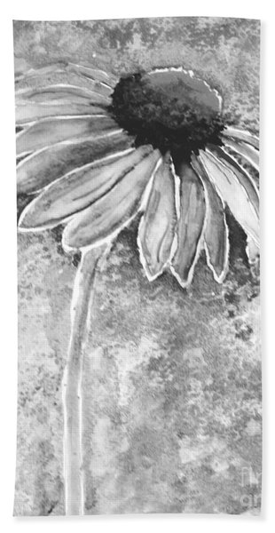 Bath Towel featuring the painting Painting Cone Flower 8615e by Mas Art Studio