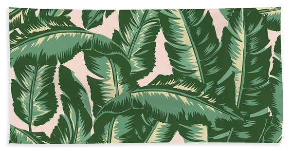 Palm Print Hand Towel