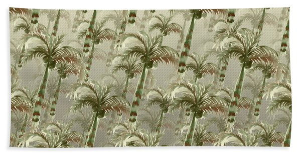 Palm Tree Grove Bath Towel