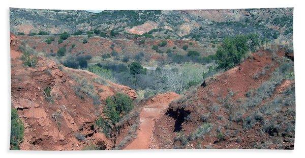Palo Duro Canyon Hand Towel