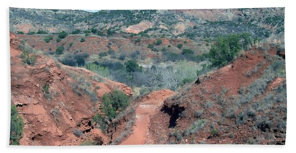Palo Duro Canyon Bath Towel