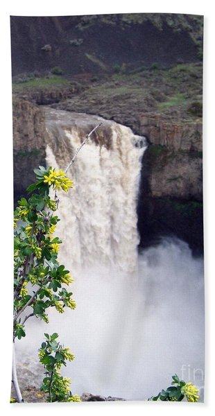 Palouse Falls Bath Towel