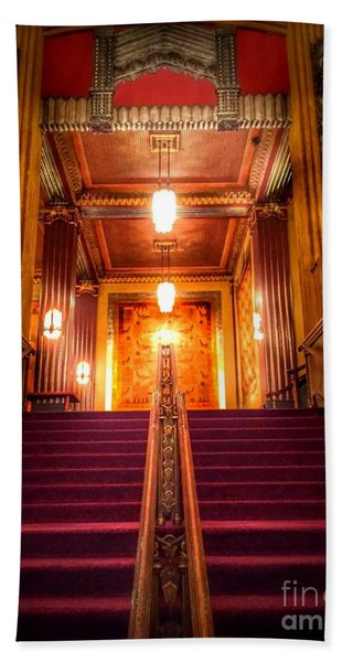Pantages Theater's Grand Staircase Bath Towel