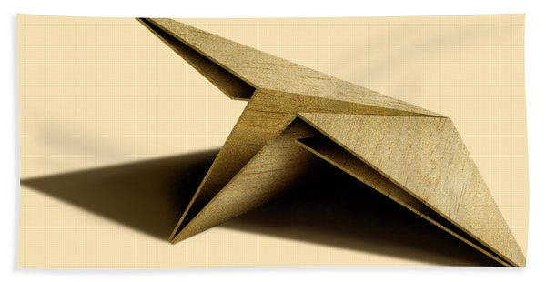 Paper Airplanes Of Wood 7 Hand Towel