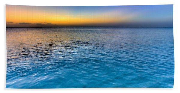 Pastel Ocean Bath Towel