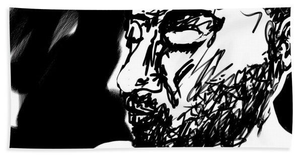 Paul Ramnora Self-portrait Bath Towel