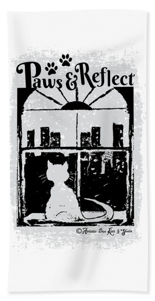 Paws And Reflect Bath Towel