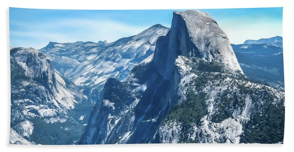 Peak Of Half Dome- Hand Towel