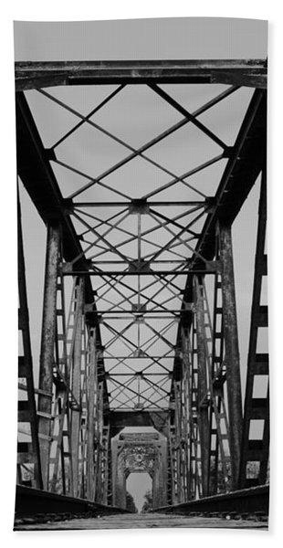 Pennsylvania Steel Co. Railroad Bridge Hand Towel
