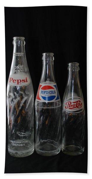 Pepsi Cola Bottles Bath Towel