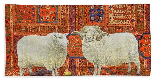 Persian Wool Bath Towel