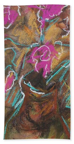 Petals Of Pink Bath Towel