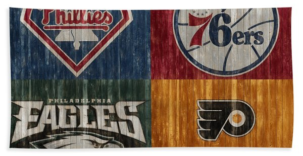Philadelphia Sports Teams Bath Towel