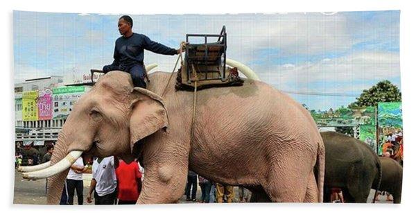 Bath Towel featuring the photograph #photoadventure #travel #thailand by Mr Photojimsf
