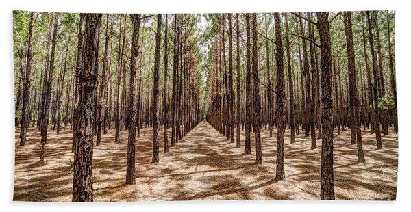 Pine Plantation Wide Color Bath Towel