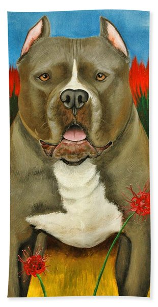 Pitbull For Charity Hand Towel