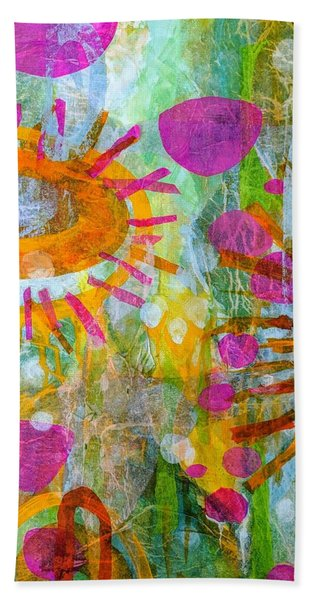 Playground In The Sea Bath Towel