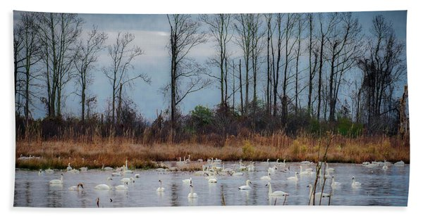 Pocosin Lakes Nwr Bath Towel