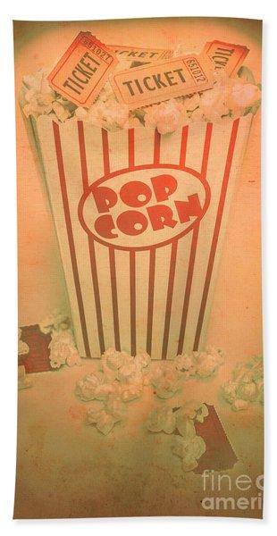 Pop Art Theatre Bath Towel
