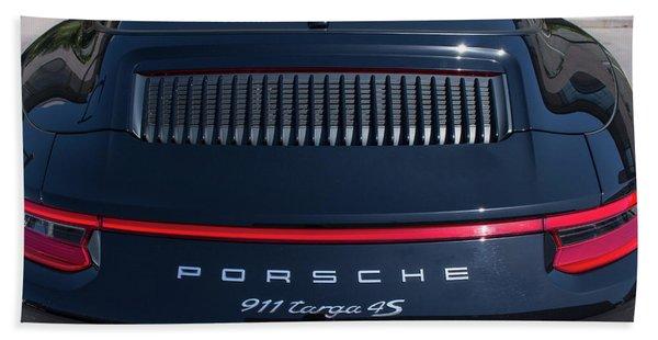 Porsche 911 Targa 4s Hand Towel