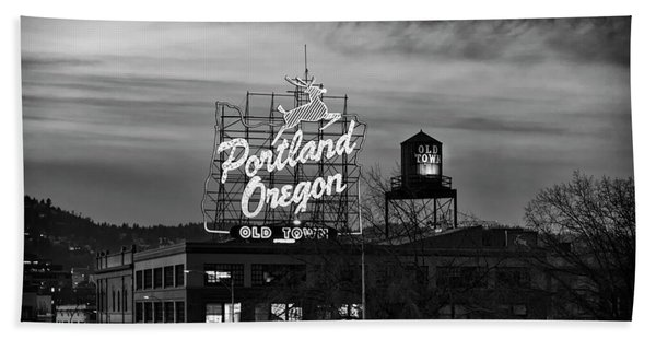 Portland Signs Hand Towel
