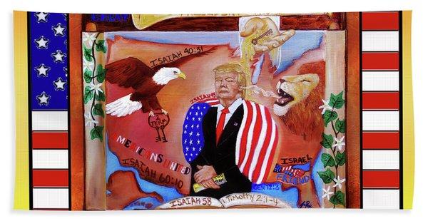 Pray For President Trump Hand Towel