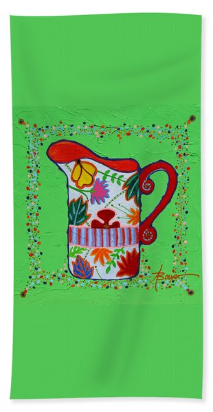 Pretty As A Pitcher Hand Towel