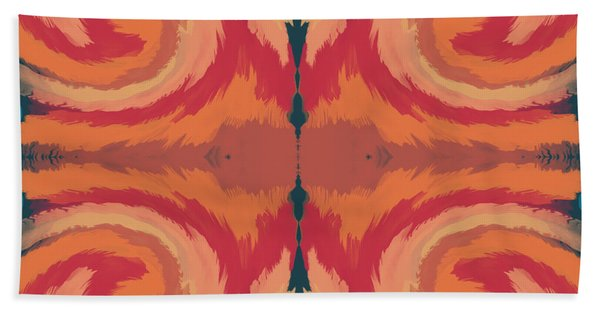 Pumpkin Spice- Art By Linda Woods Bath Towel