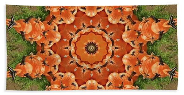 Pumpkins Galore Bath Towel